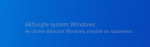 Windows 10 vodoznak
