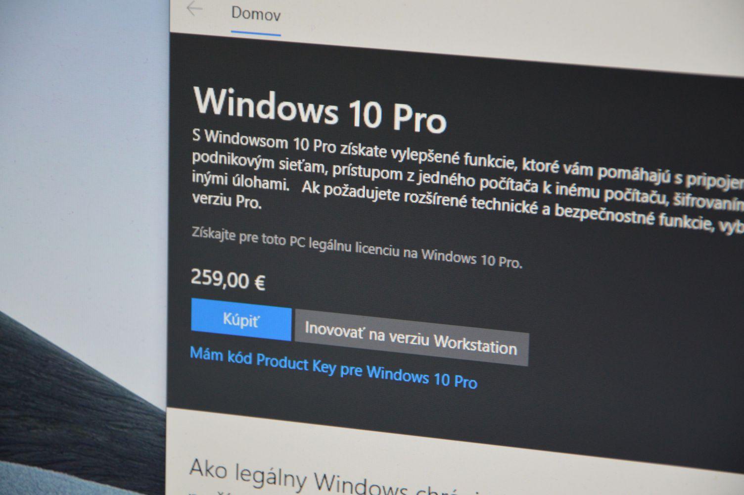 Ako aktivovat Windows 10 titulka